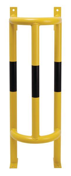 Arceau de protection vertical pour tuyaux jaune/noir en acier
