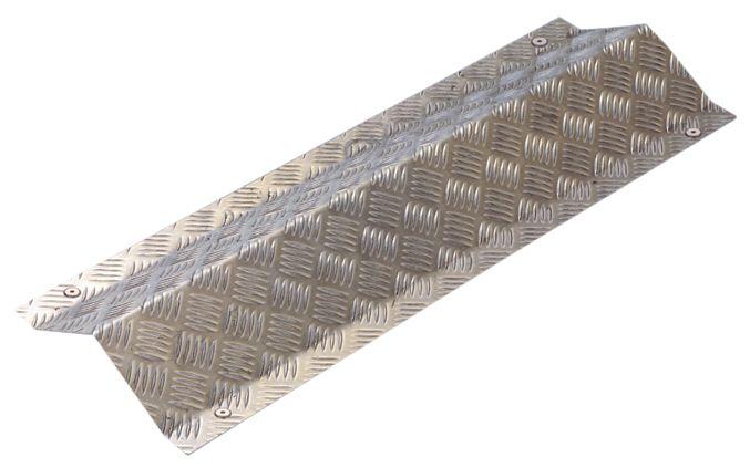 Plaque de protection en aluminium pour c bles seton fr for Passage de cable au sol