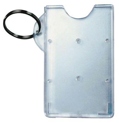 Porte-badge rigide en polycarbonate dépoli