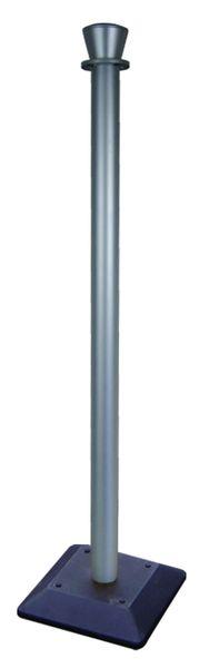 Poteau en plastique avec socle