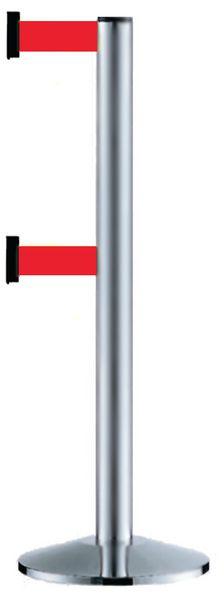 Poteaux à double sangle étirable avec coloris au choix
