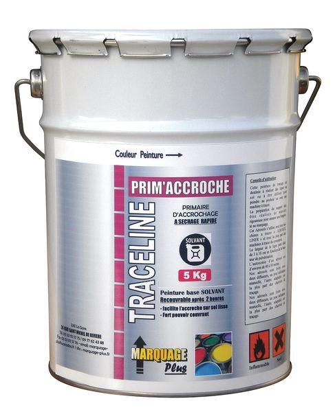 Peinture primaire d'accrochage pour le marquage au sol en pot de 5 kg