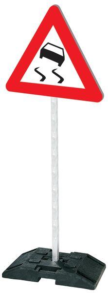 """Panneaux de signalisation de sécurité pour parking """"Risque de verglas"""""""