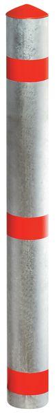 Poteaux de voirie en aluminium ou acier à bandes réfléchissantes