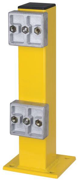 Barrière de protection modulaire en acier