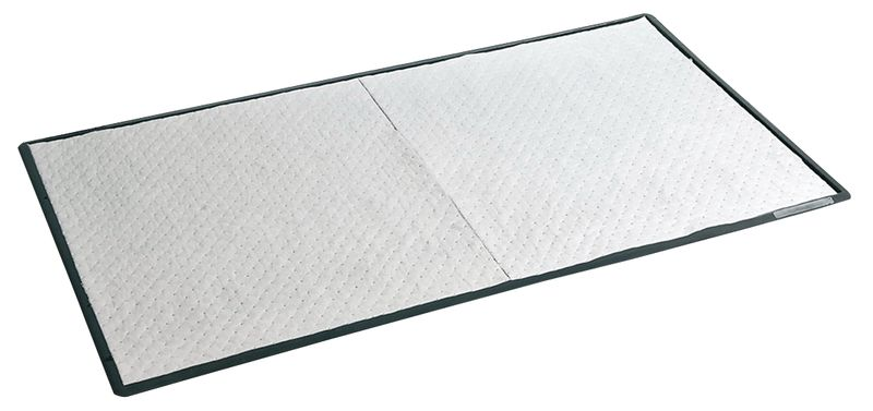 Tapis absorbant pour hydrocarbures anti-fatigue