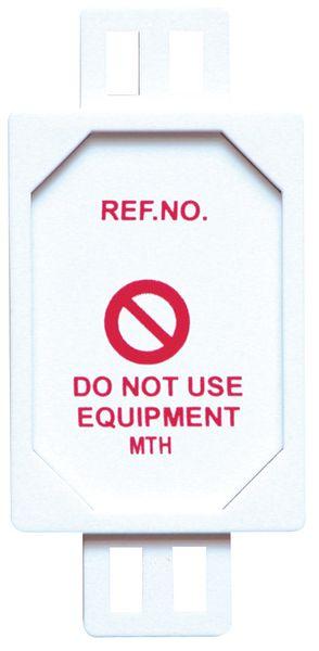 Porte-étiquette pour le contrôle des EPI