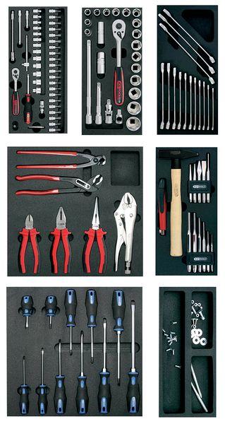 Servantes d'outils équipées