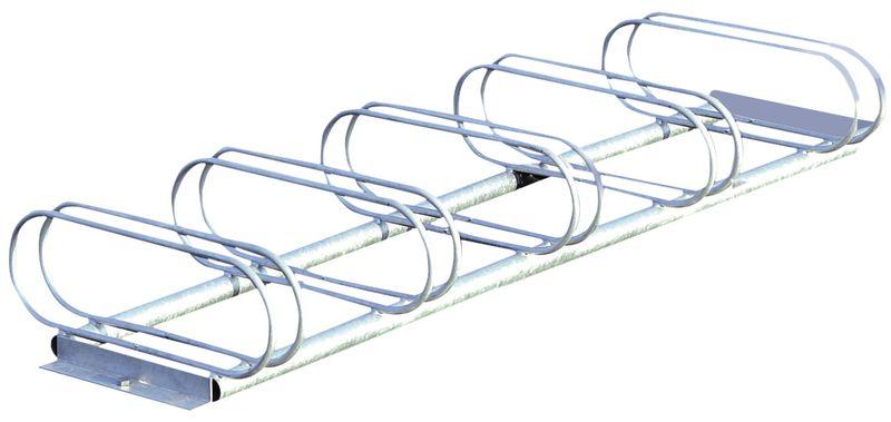 Range vélos au sol utilisable des 2 côtés