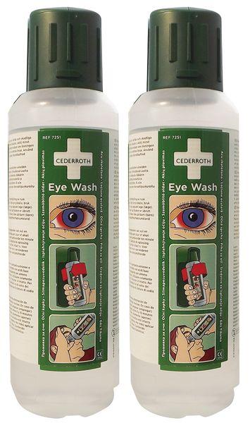 Station individuelle d'urgence pour lavage oculaire