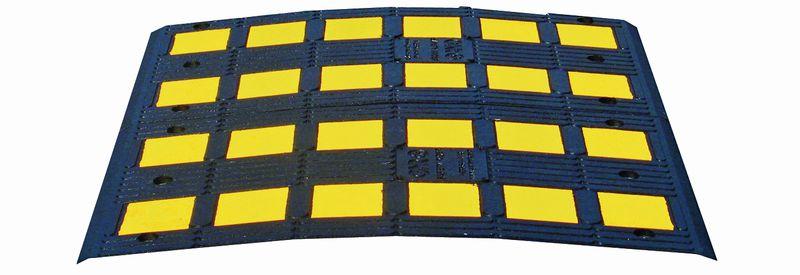 Ralentisseurs 1 pièce grande largeur pour trafic léger
