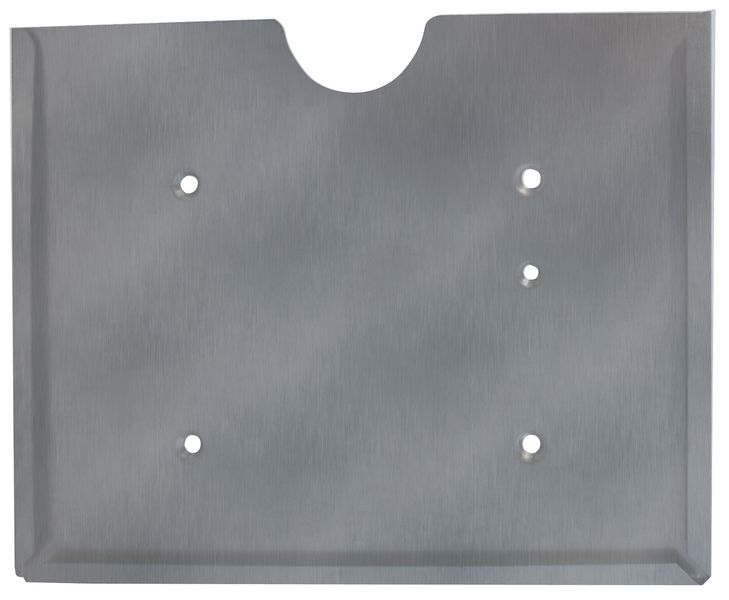 Supports de plaques pour camions en acier ou inox