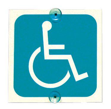 """Panneaux de """"Transport handicapés"""" pour véhicules"""