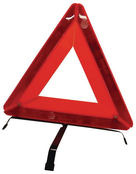 Triangle de signalisation repliable
