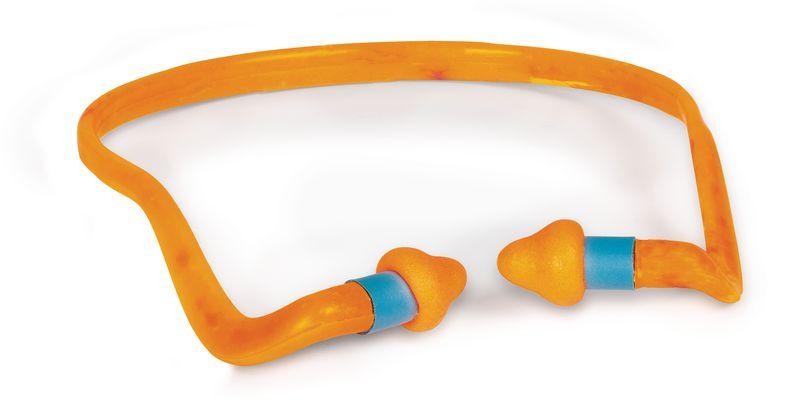 Arceau anti-bruit avec bouchons d'oreilles 24 dB à forme conique