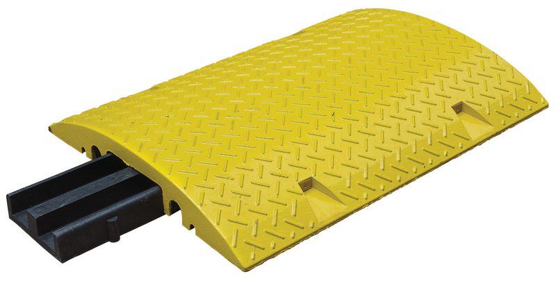 Protecteurs de câbles en caoutchouc avec 6 passages pour câbles