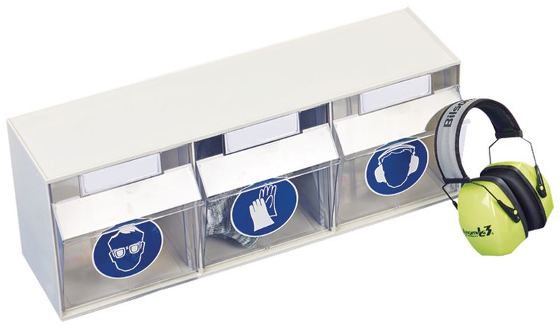 Boîtes de rangement pour EPI