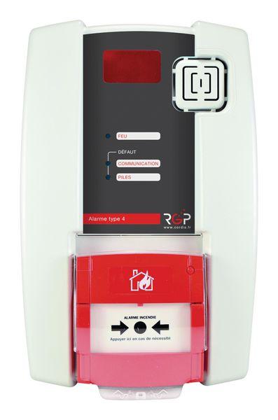 Centrale d'alarme autonome type 4 grande portée
