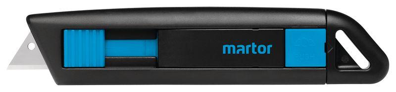 Cutter droit de sécurité avec lame rétractable semi-automatique Martor® Secunorm Profi Light