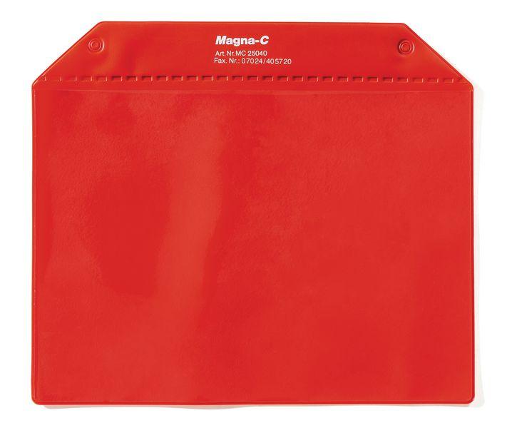 Pochettes magnétiques avec rabat de protection