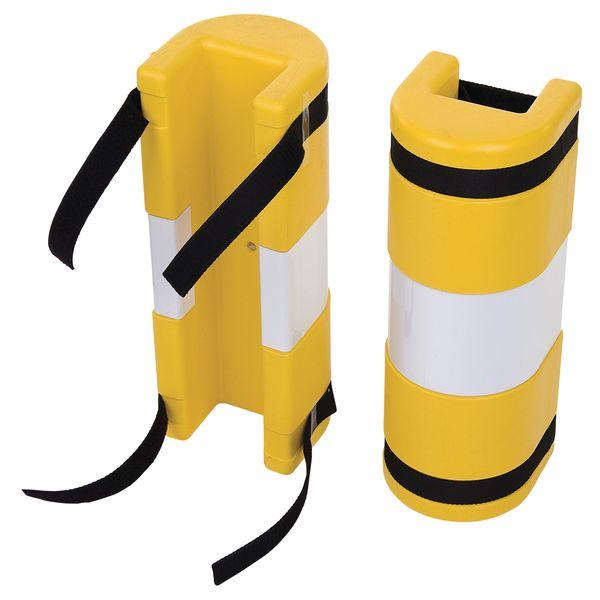 Protection de racks avec/sans bande adhésive réfléchissante Parflex