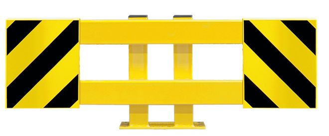 Barrières de protection de racks de stockage ajustables