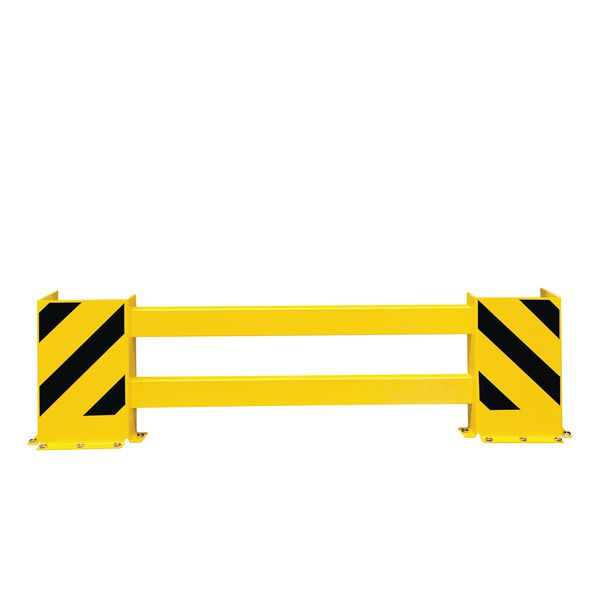 Barrière de protection ajustable pour racks de stockage