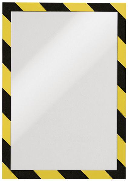 Porte-documents adhésif avec fermeture magnétique
