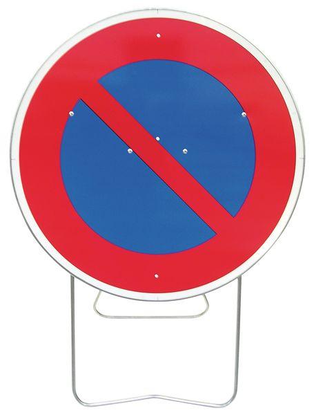 Panneau sur pied avec support intégré -  signaler un stationnement interdit temporaire