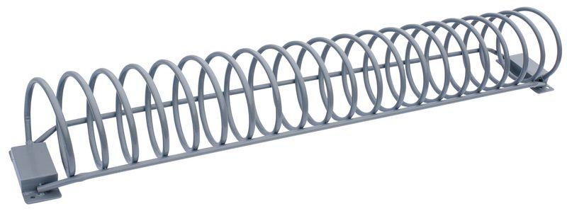 Range-vélos spiralé avec ou sans panneau