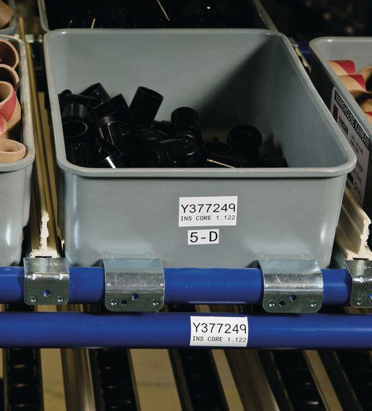 Etiquettes d'identification industrielle multiusages pour imprimante BMP71