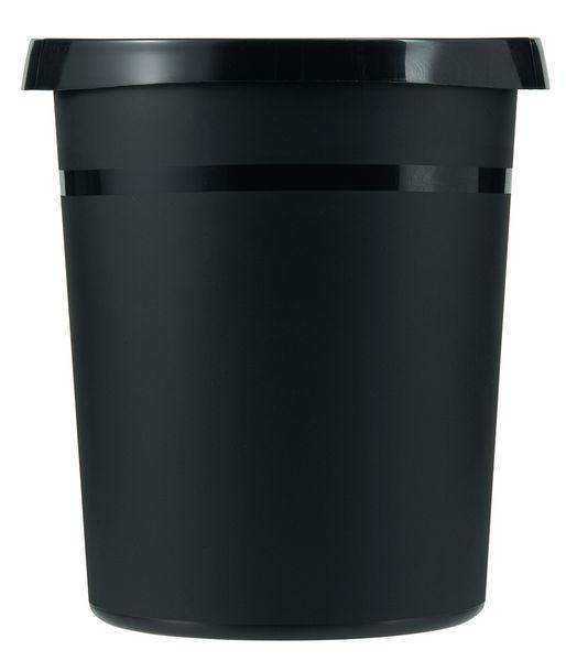 Corbeille en plastique ronde de bureau