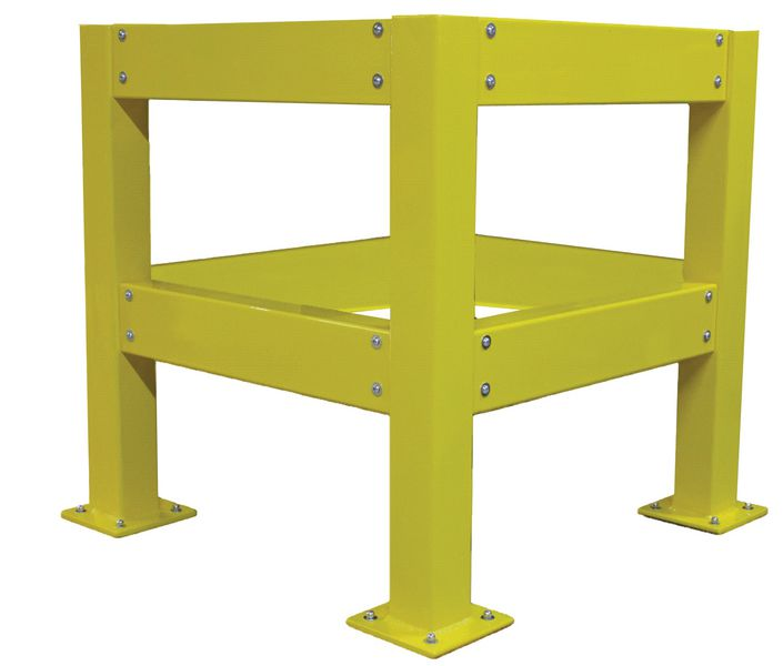 Protection de colonnes en acier
