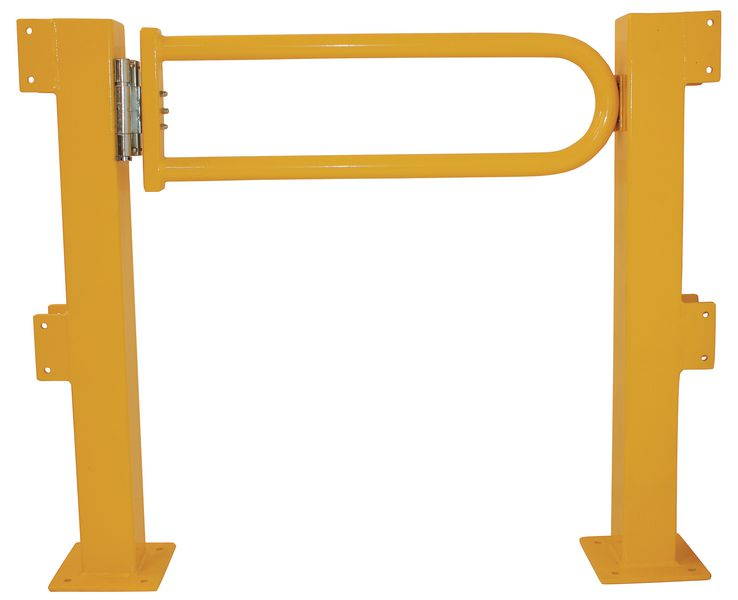 Porte battante pour barrière de protection modulable