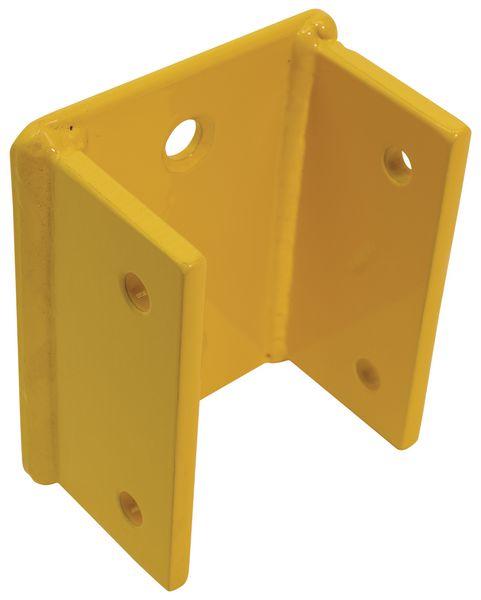 Fixation murale pour barrière de protection modulable