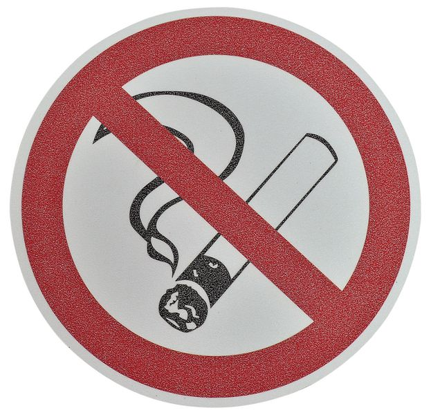 pictogramme antid rapant au sol interdiction de fumer seton fr. Black Bedroom Furniture Sets. Home Design Ideas
