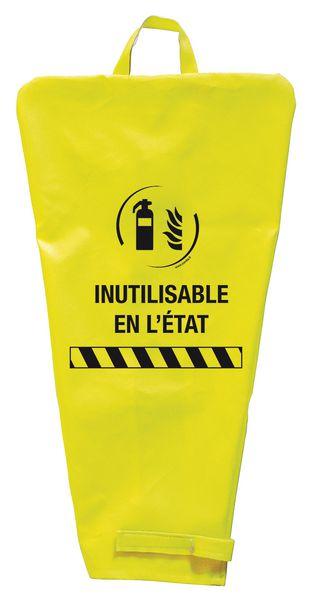 """Housse de maintenance pour extincteur """"inutilisable"""""""