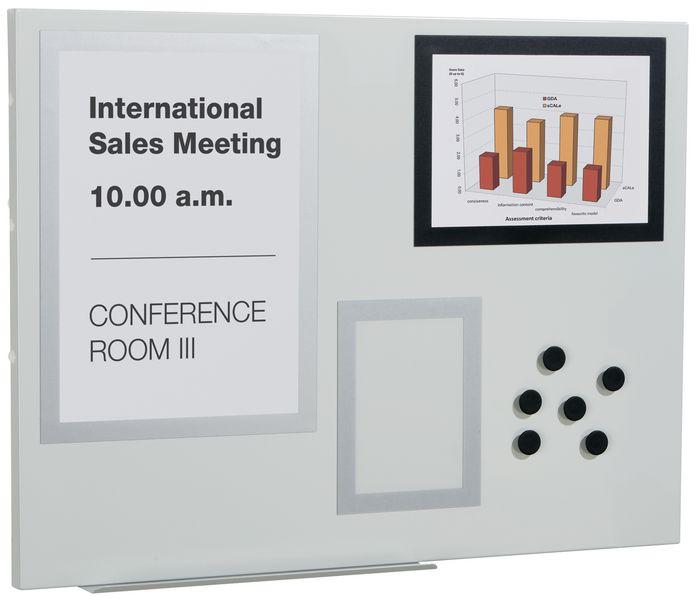 Tableaux blancs magnétiques muraux avec accessoires