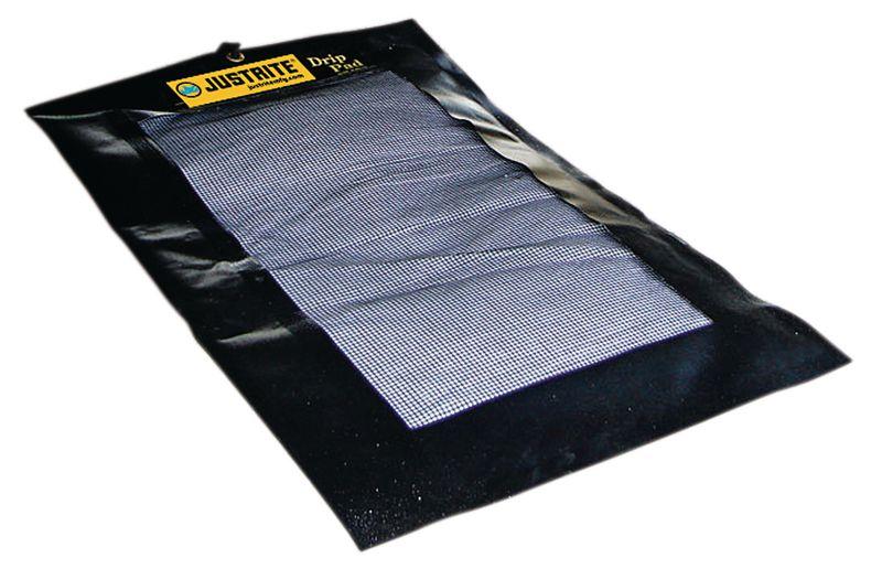 Tapis absorbant rechargeable pour huiles et hydrocarbures