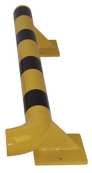 Lisse modulaire de protection pour mur en acier galvanisé PARTUB