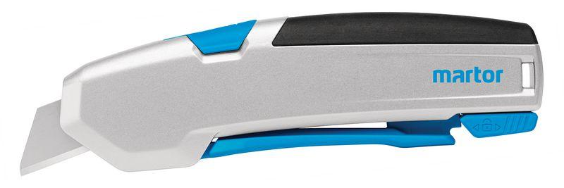 Cutter à gâchette avec lame rétractable automatique Martor®Secupro 625