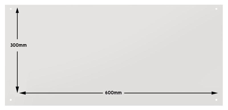 Panneau mural range-outils en PVC Foamex