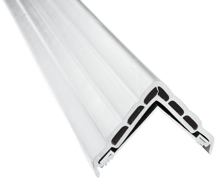 Butoir de protection à alvéoles plates pour angles