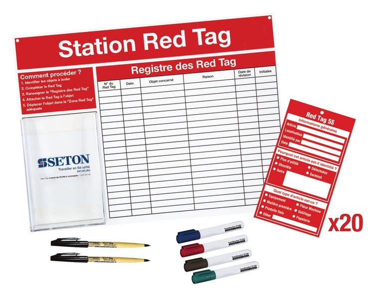 Kit Station Red tag