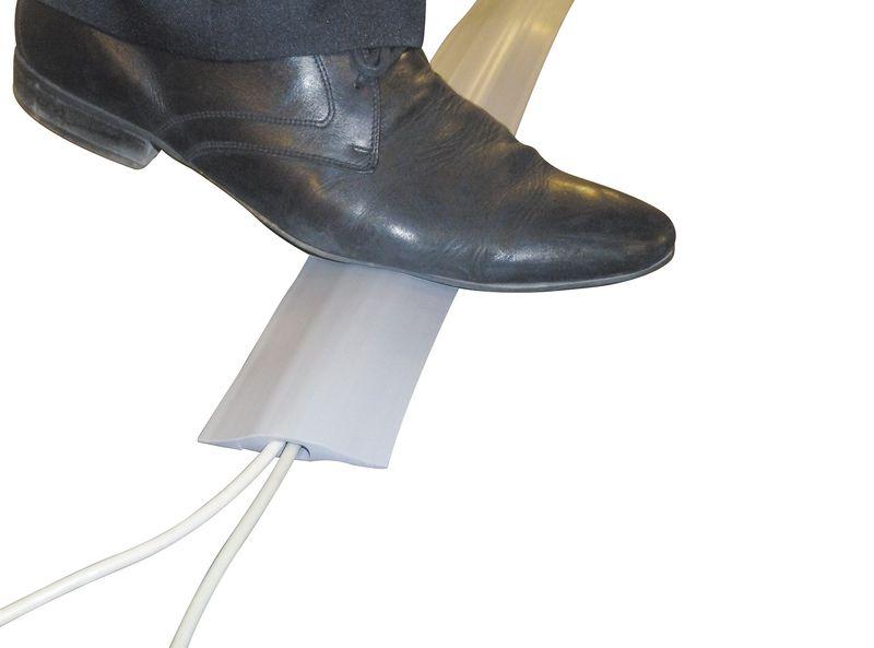 Protège-câbles souple gris