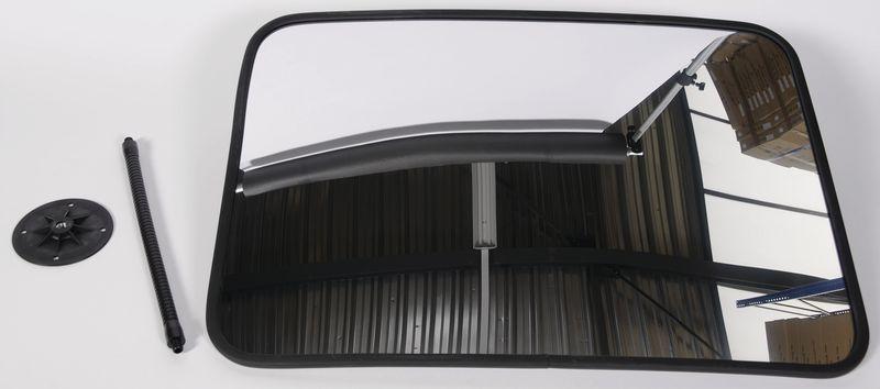 Miroir de sécurite avec bras flexible