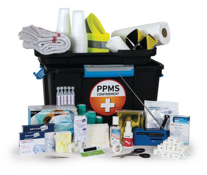 Mallette PPMS pour 100 à 150 personnes