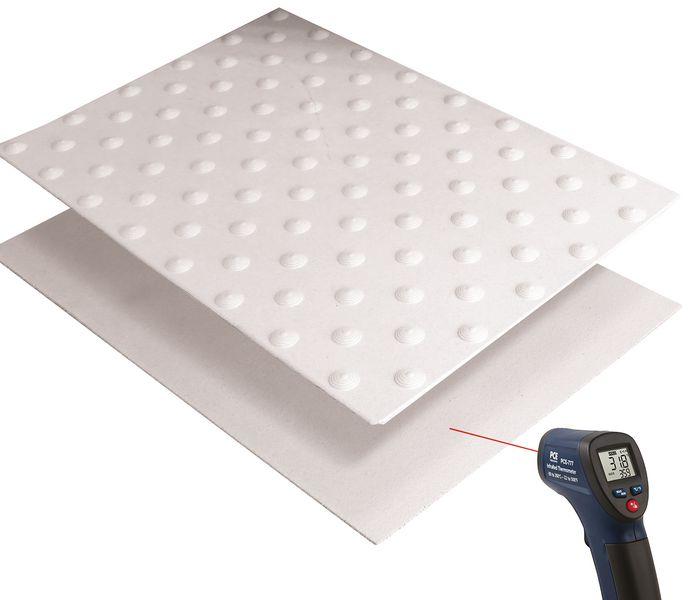 Dalles podotactiles à thermocoller usage extérieur