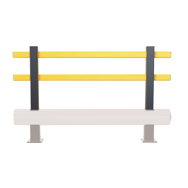 Extension en hauteur pour barrière de protection basse