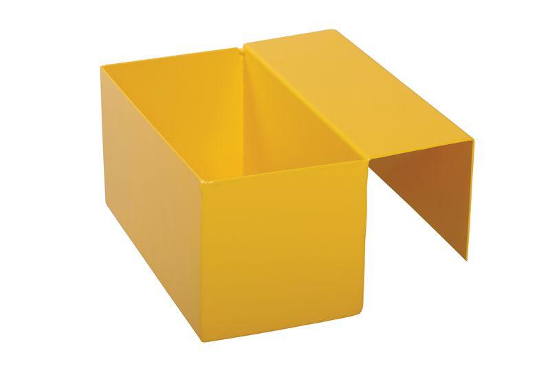 Boîte de rangement pour barrière modulable